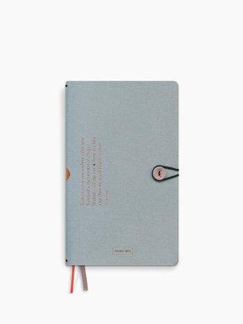 Notebook met knoop - Cloud