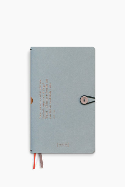 Notebook met knoop - Cloud