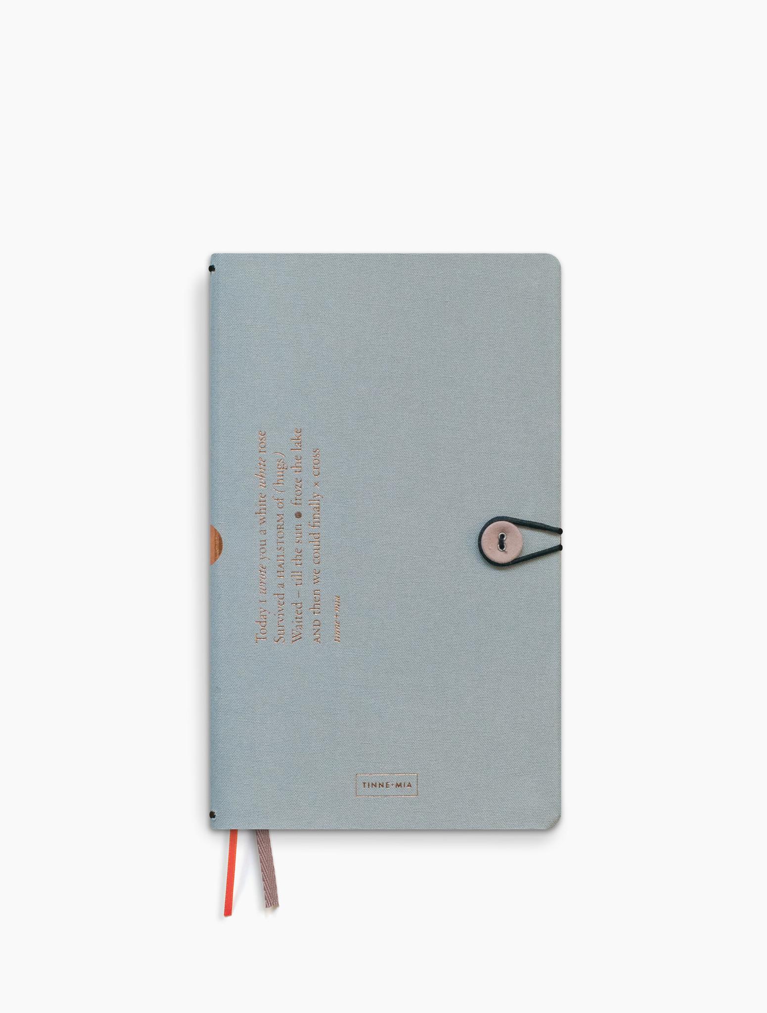 Notebook met knoop - Cloud-1