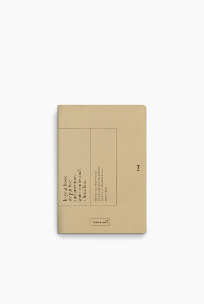 Note Booklet - Faded Lemon