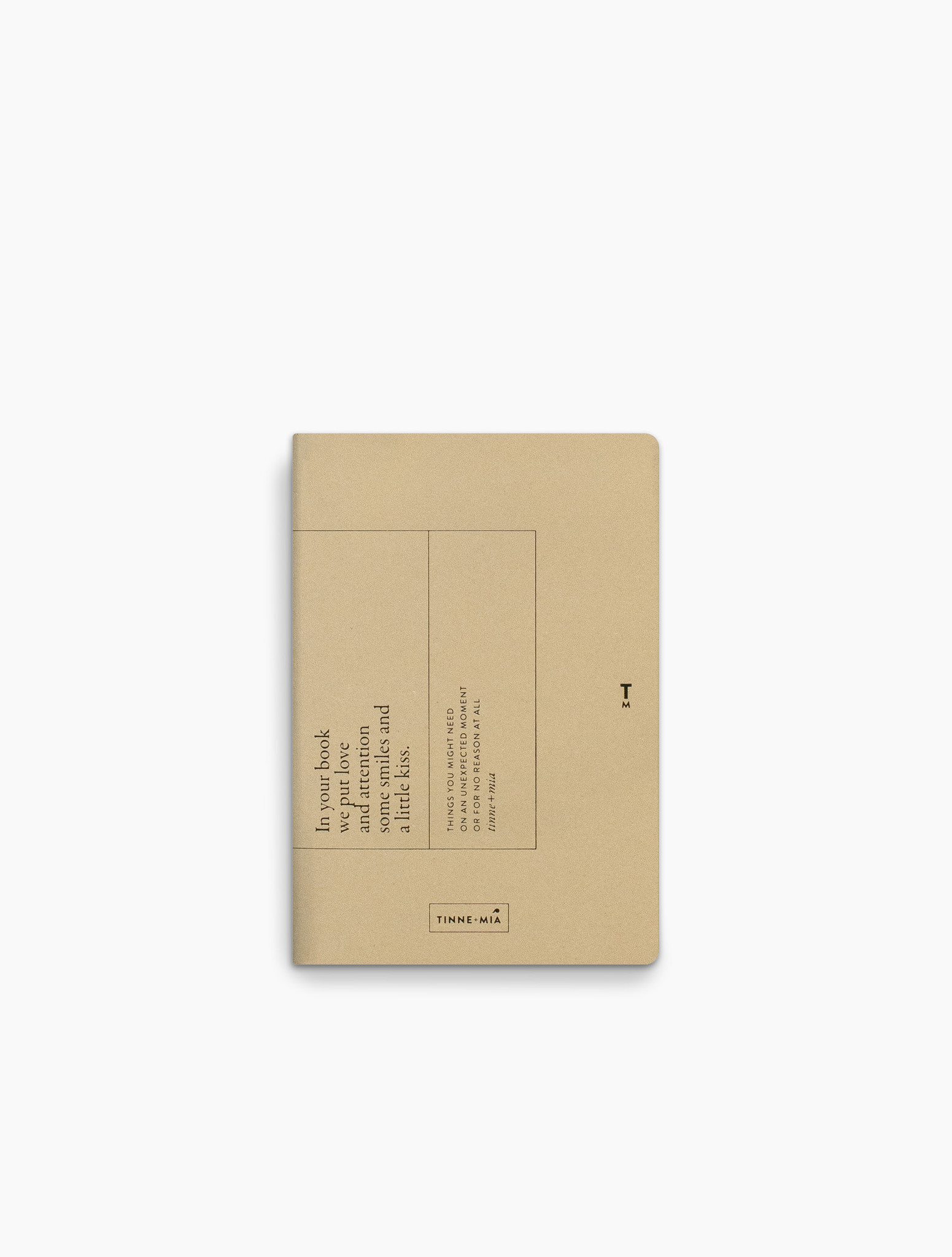 Note Booklet - Faded Lemon-1