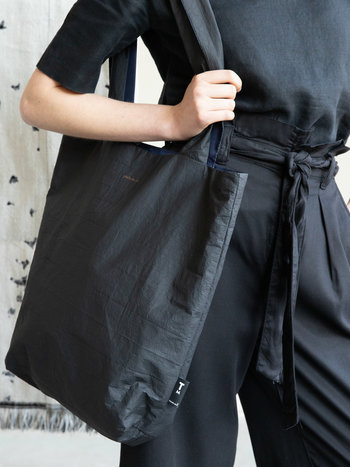F.G. Tote Bag Tyvek - Black