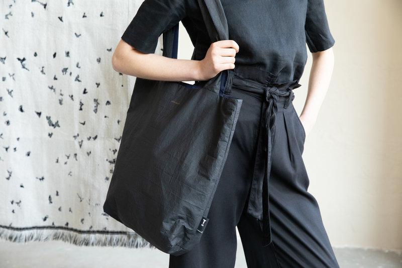 F.G. Tote Bag Tyvek - Black