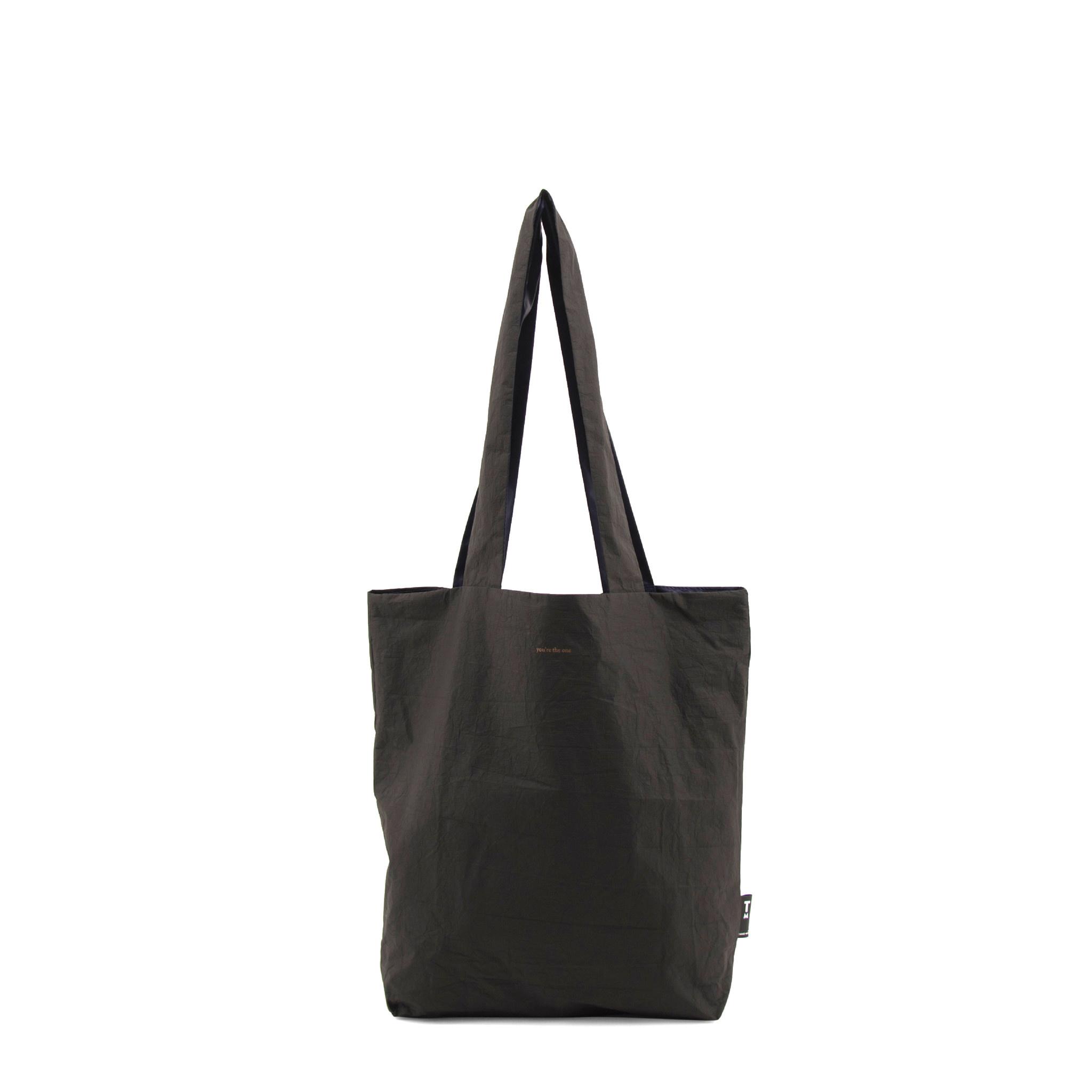 F.G. Tote Bag Tyvek - Black-3