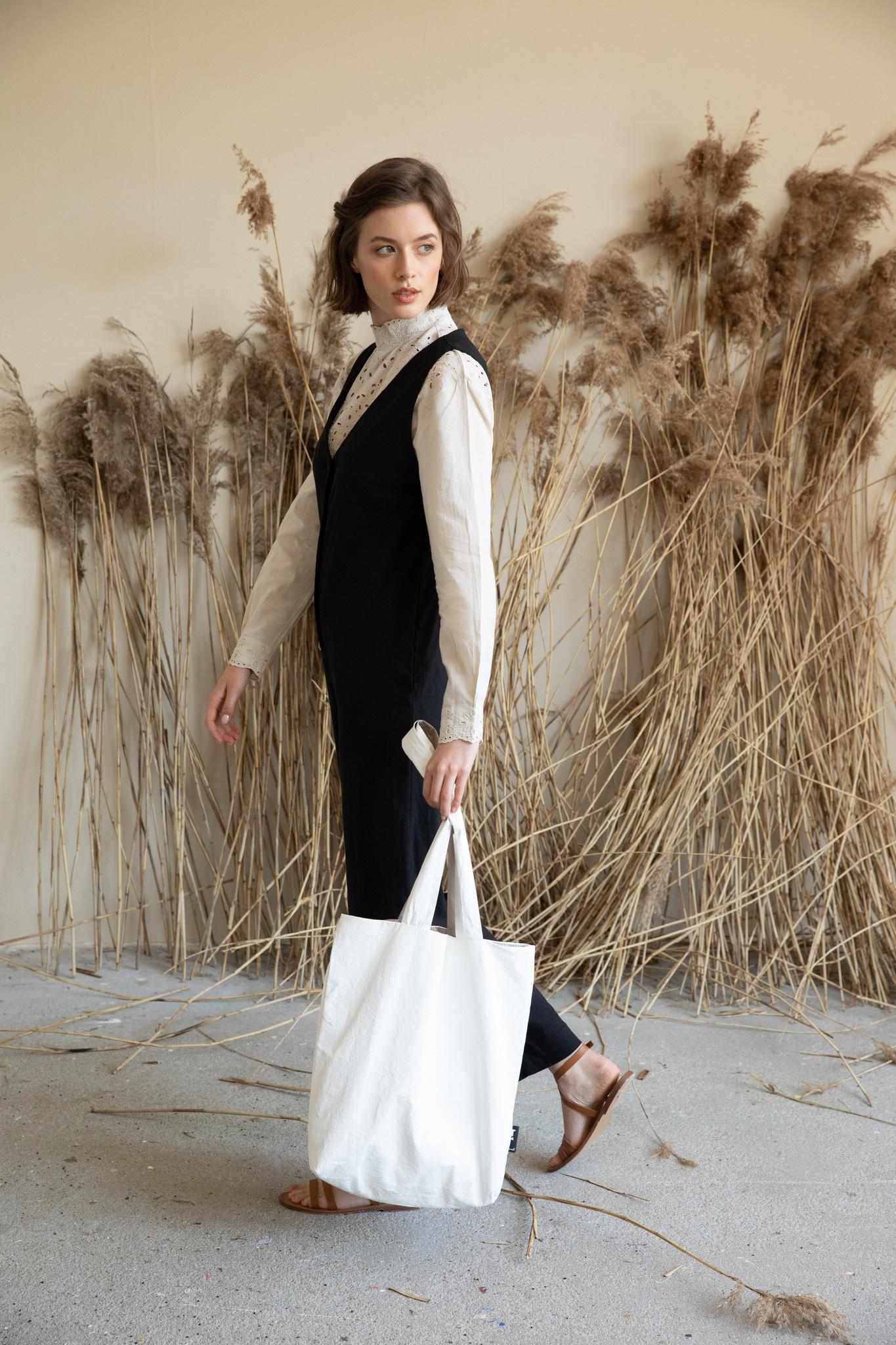 F.G. Tote Bag Tyvek - Off white-4