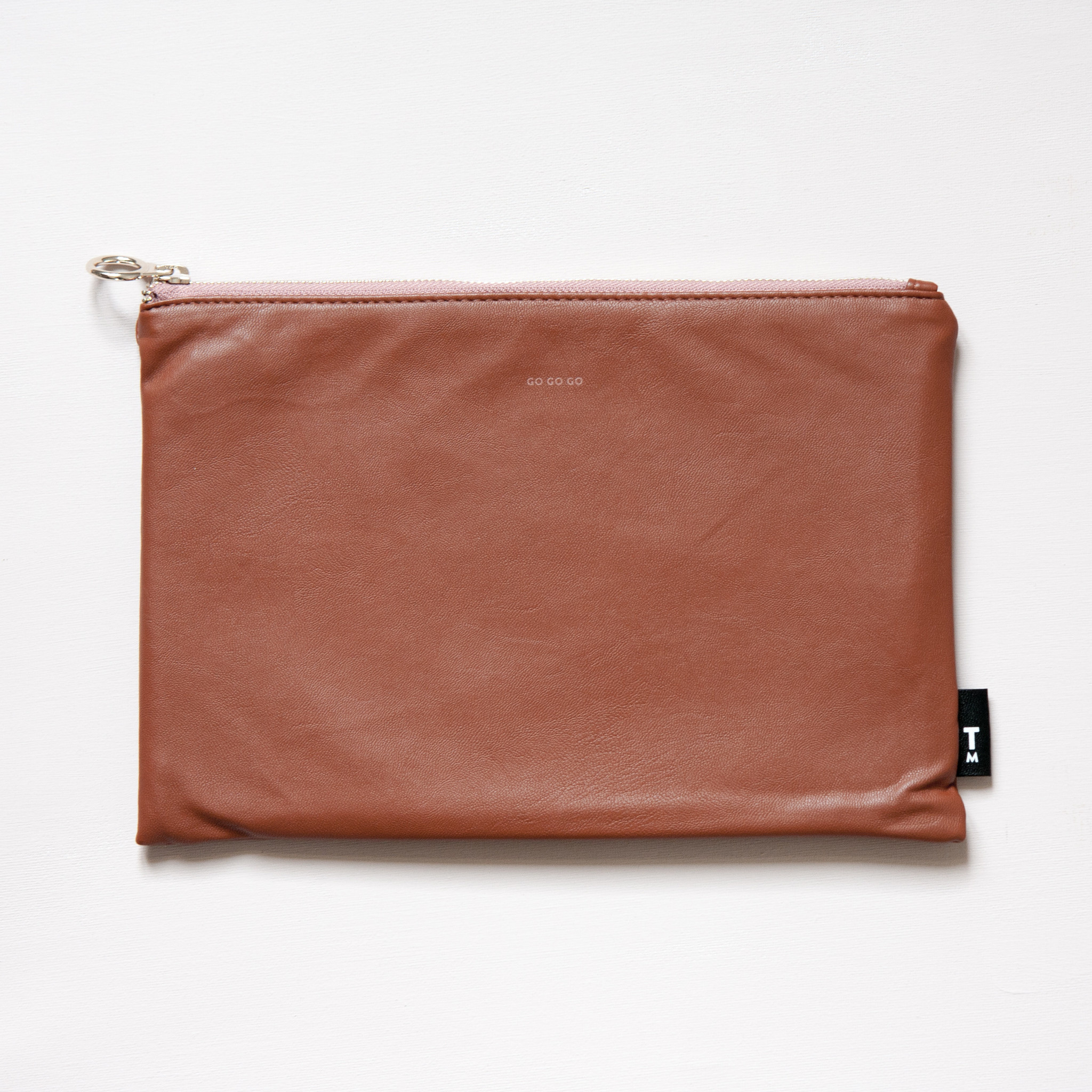 Feel Good Pouch - Light Brown-1