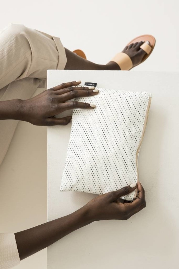 Feel Good Pouch - Perforated White