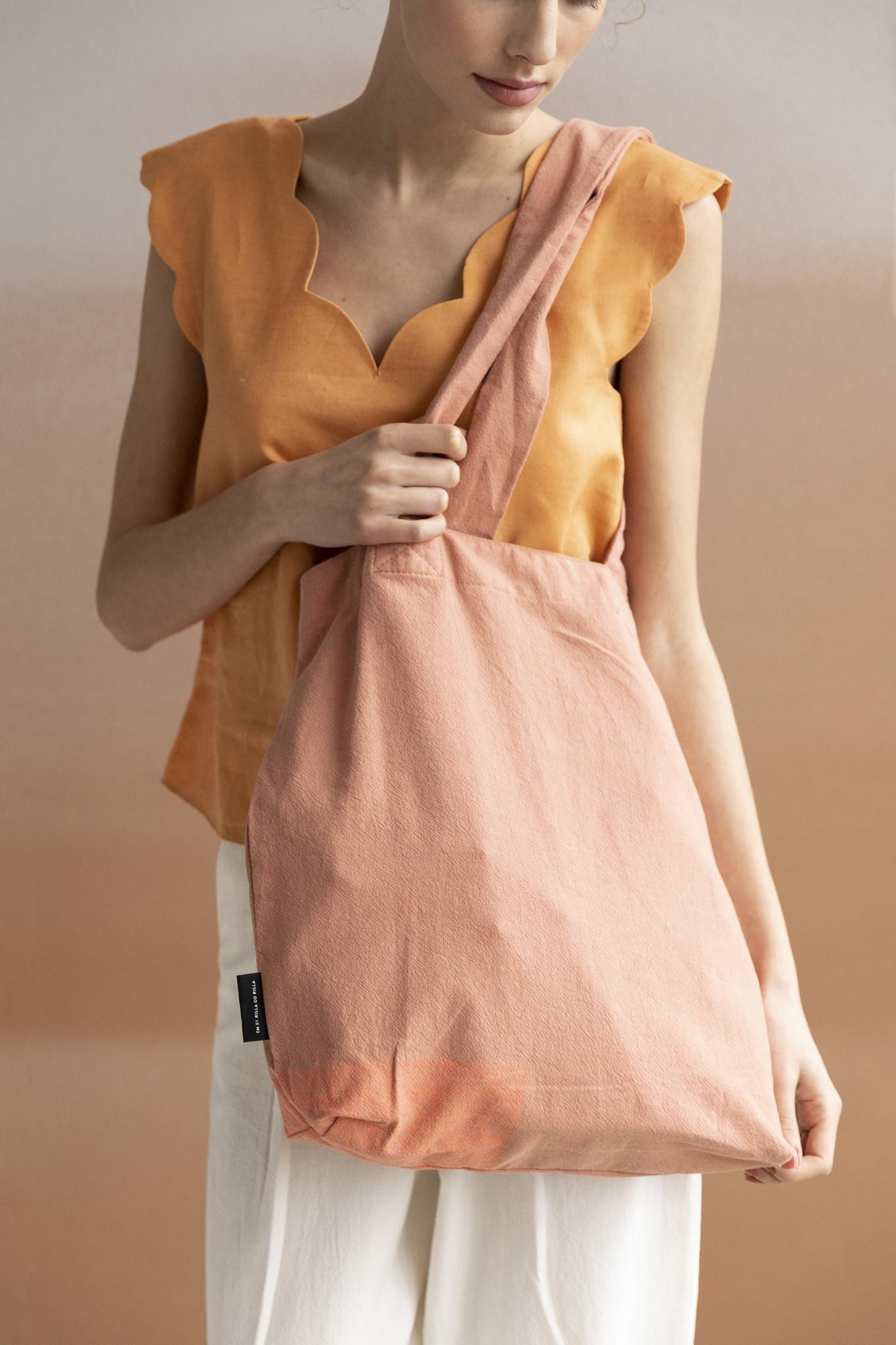 F.G. Tote Bag Linen - Autumn Swarm-1