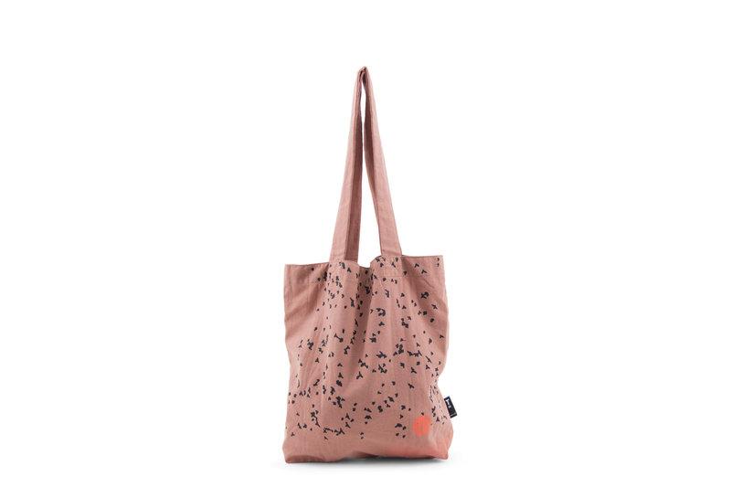 F.G. Tote Bag Linen - Autumn Swarm