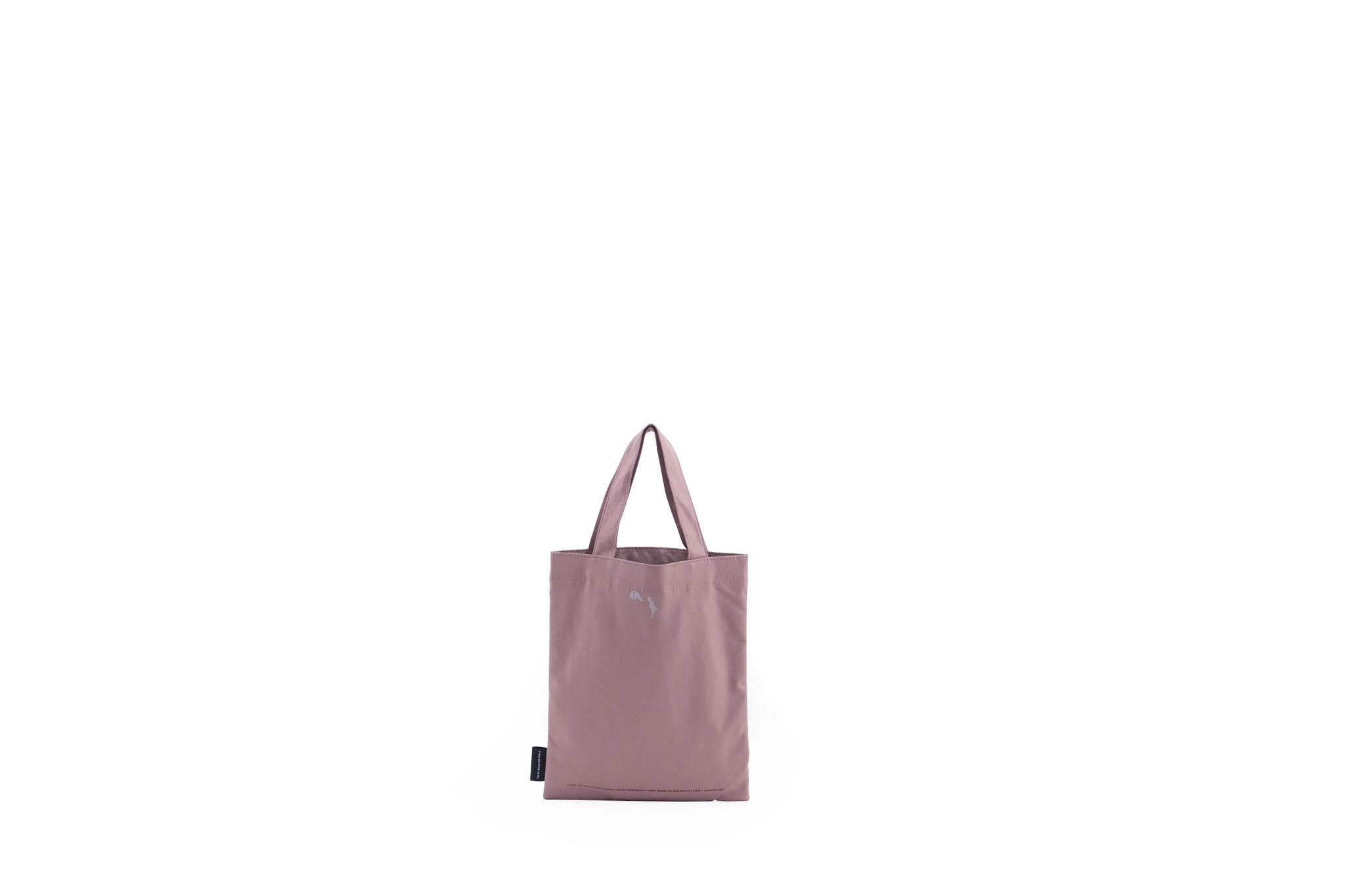 Kids Tote Bag - Pastel Pink-2