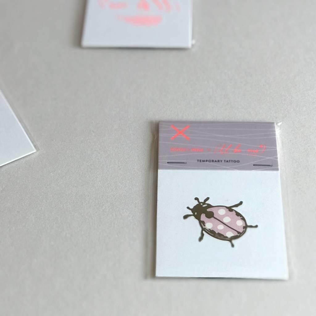 Tattoo Ladybug I'll be me-1