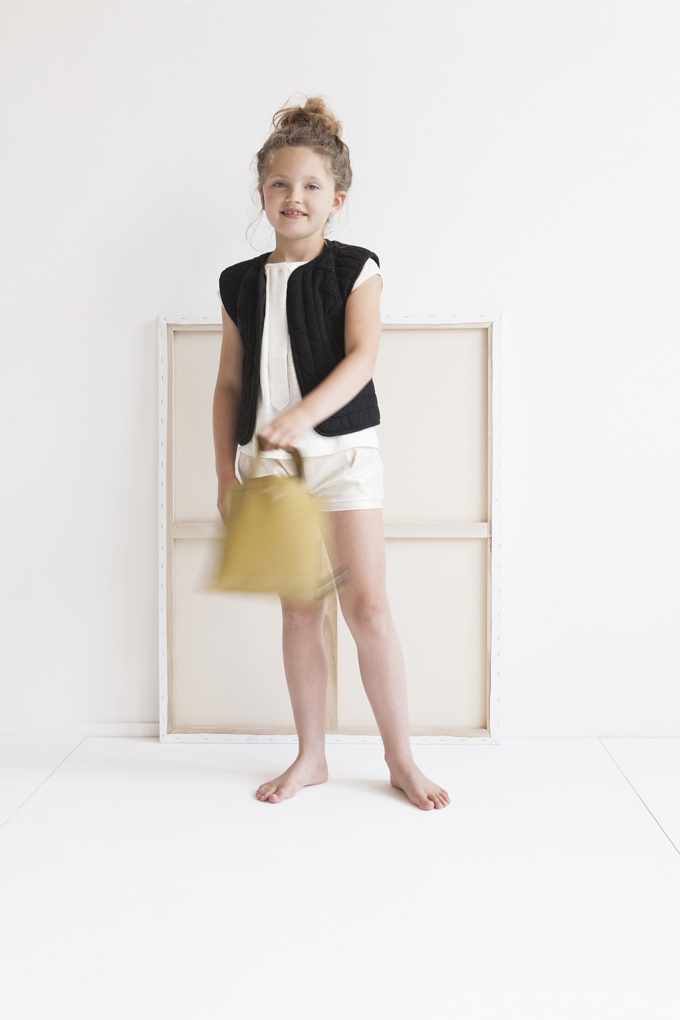 Kids Tote Bag - Olive-1