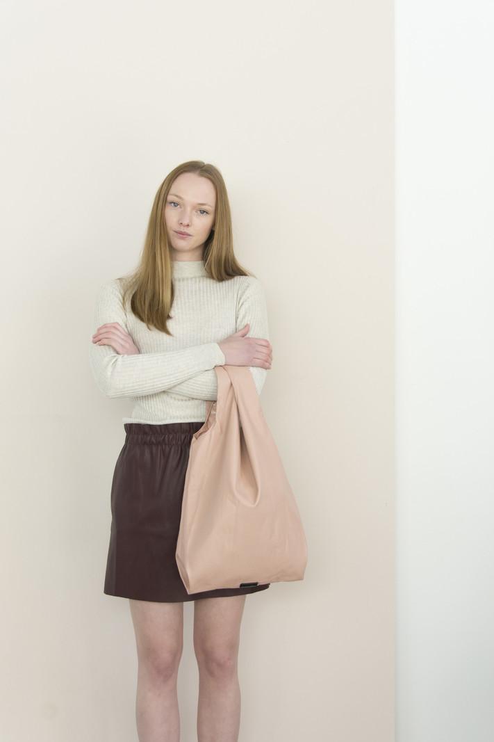 Market Bag - Pastel Pink