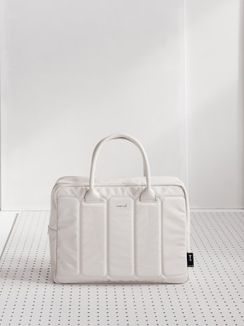 Laptop Bag - Off white