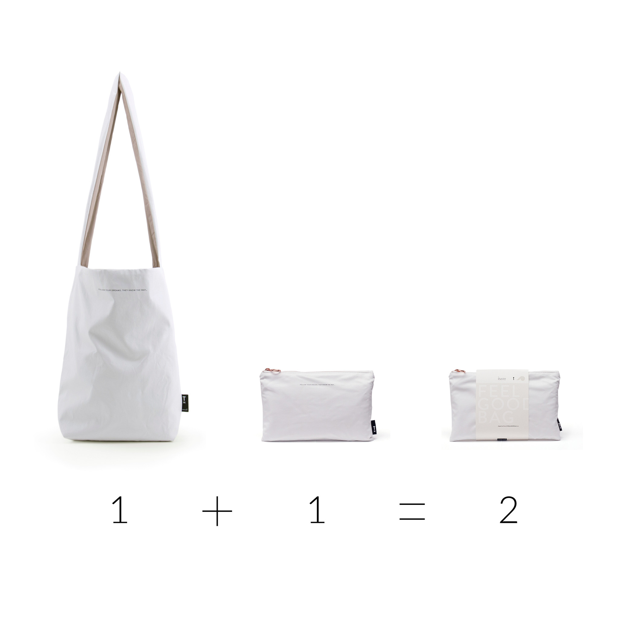 Feel Good Bag - Special Edition White-2