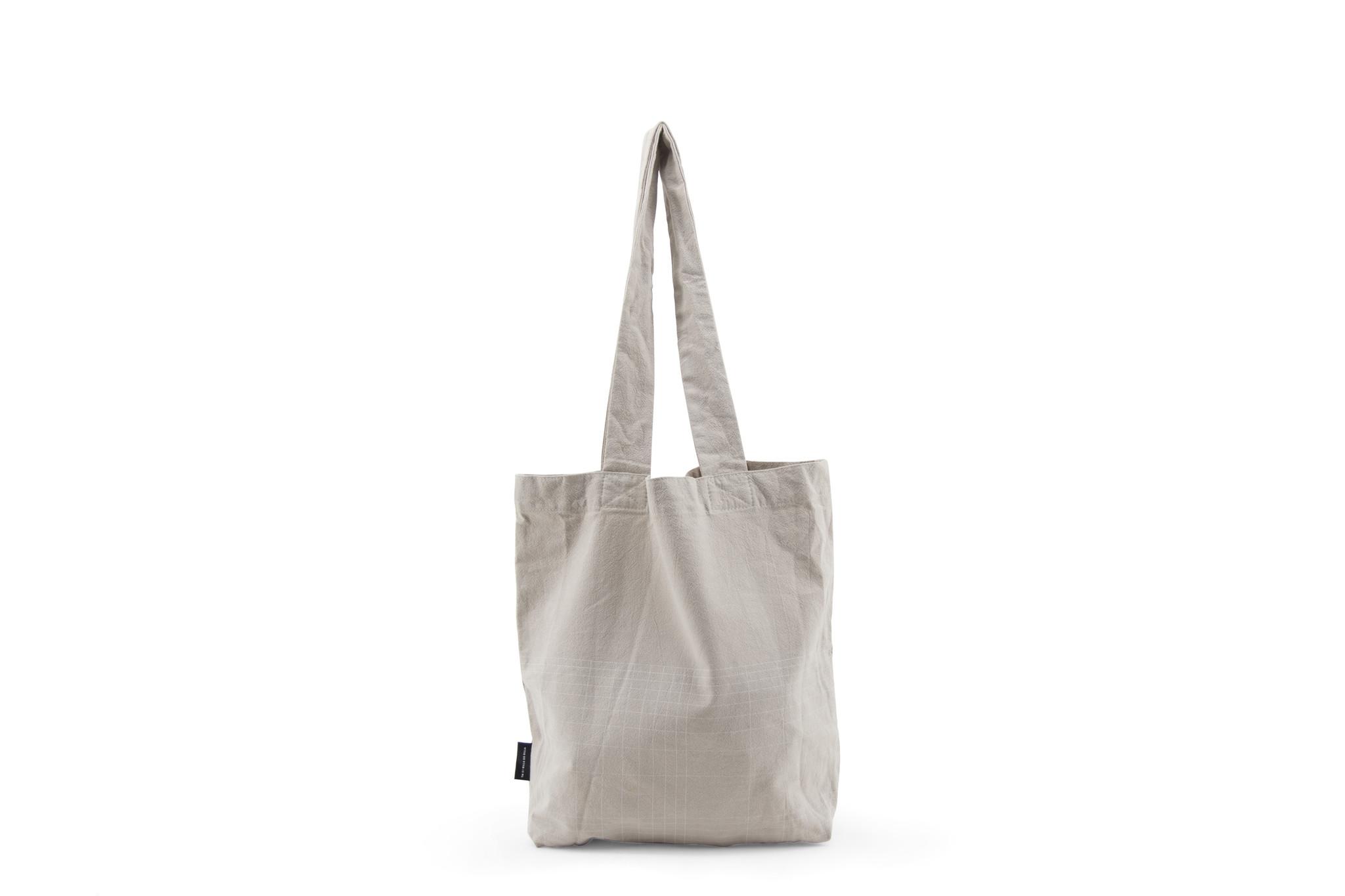 F.G. Tote Bag Linen - Eucalyptus-3
