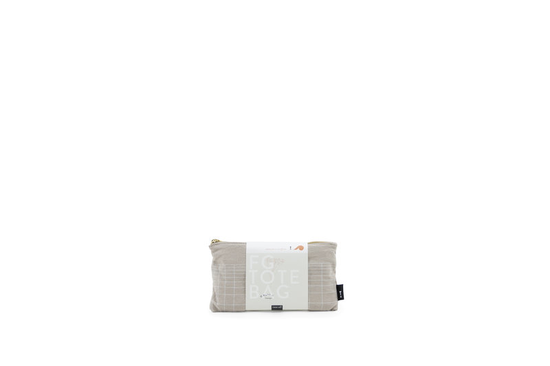 F.G. Tote Bag Linen - Eucalyptus