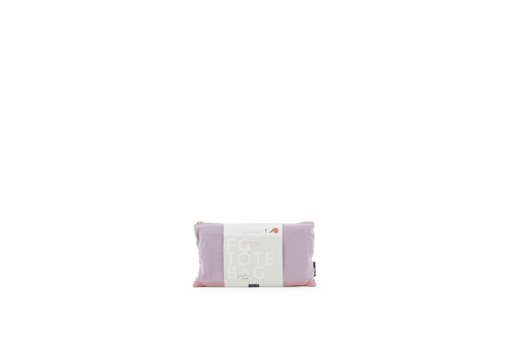 F.G. Tote Bag Linen - Orchid Hush-4