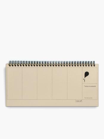 Desk Planner - Jaune doux