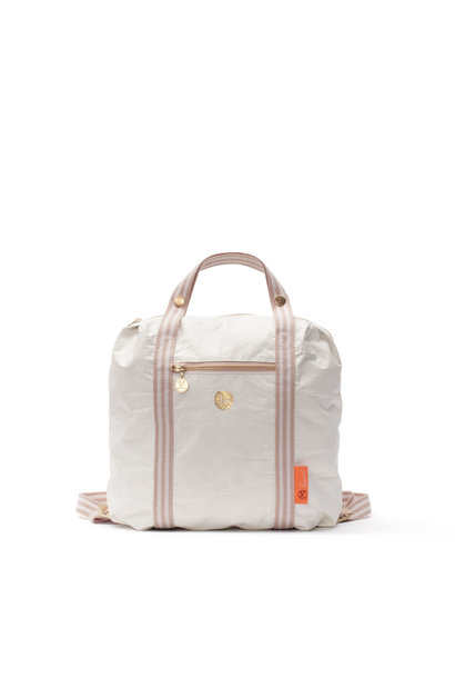 Loua Backpack - Blanc de Blanc