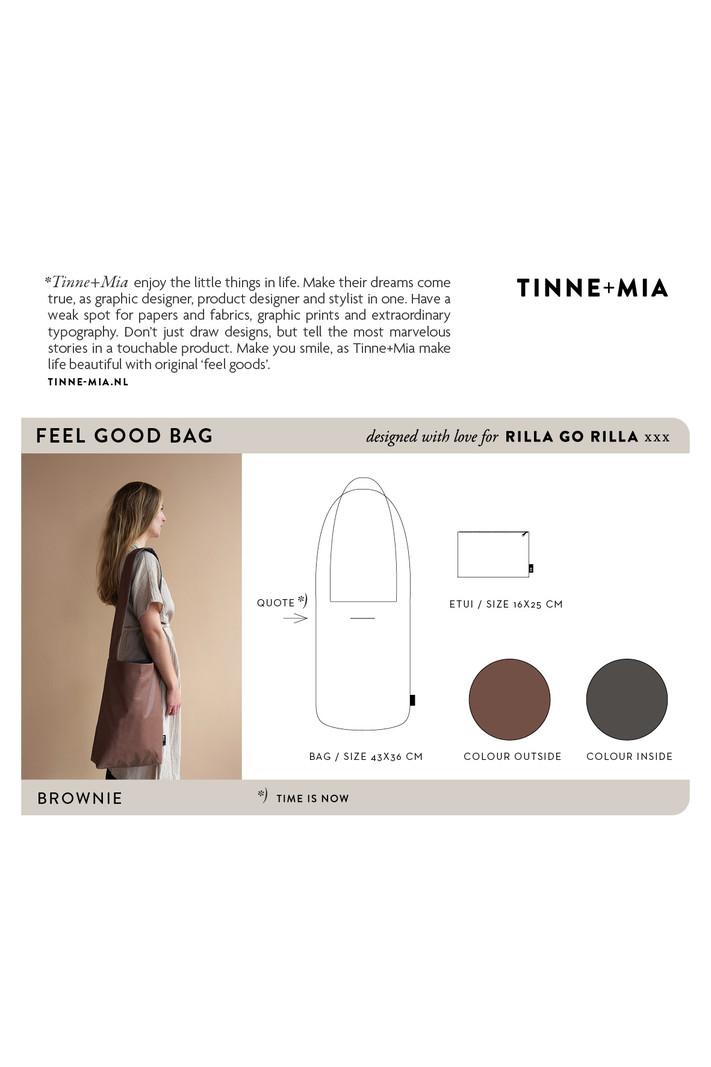 Feel Good Bag - Brownie | time is now