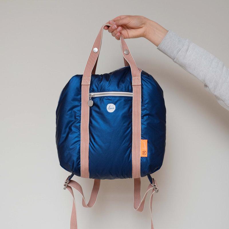 Loua - Backpack - Dazling Blue - Tyvek