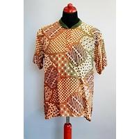 Batik shirt korte mouw 272