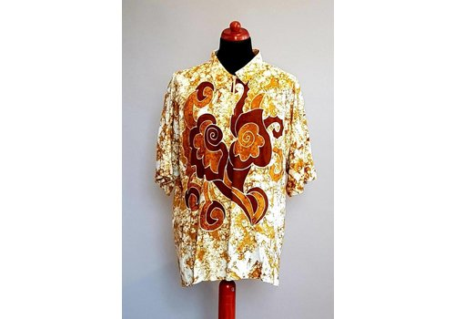 Batik shirt korte mouw 412