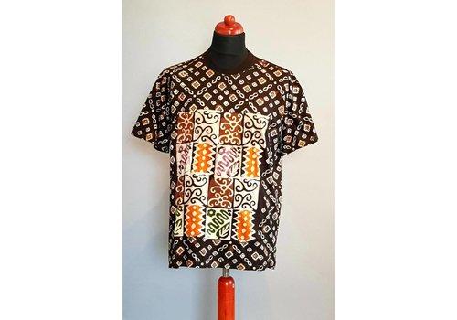 Batik shirt korte mouw 422