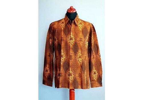 Batik overhemd lange mouw 282