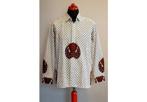 Batik overhemd lange mouw 532