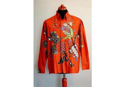 Batik overhemd lange mouw 552