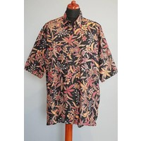 Batik overhemd korte mouw 212