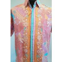 Batik overhemd korte mouw 033