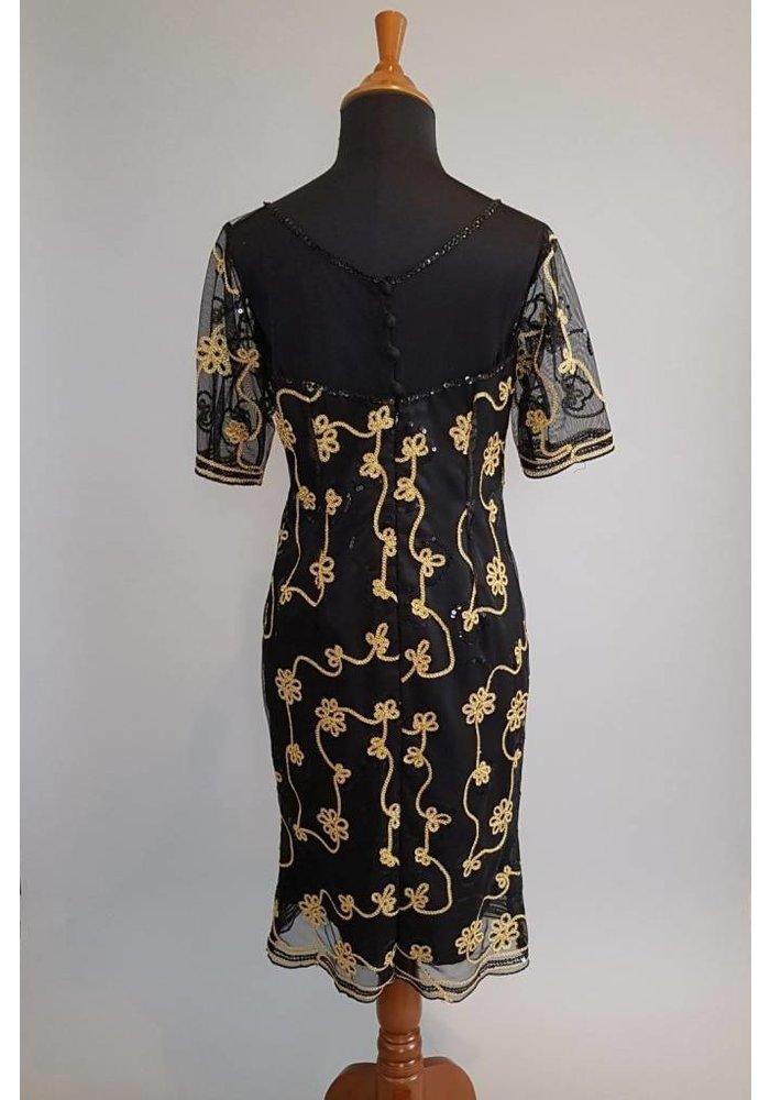 Feest jurk zwart
