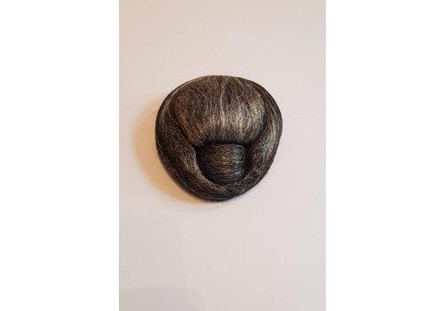Sanggul grijs haar