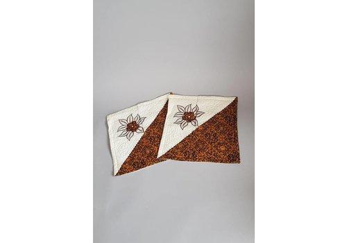 Setje kussenslopen batik