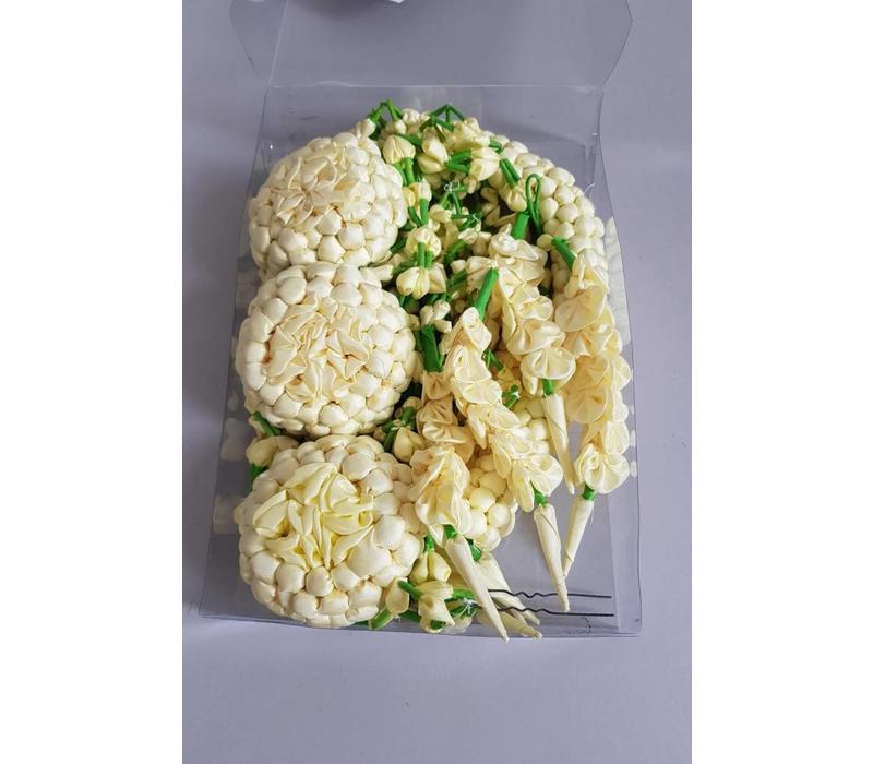 Haar accessoires jasmijn (voor de bruiloft)