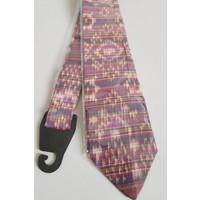 Batik stropdas violet