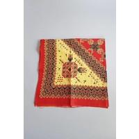 Batik tafelkleed vierkant rood