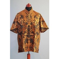 Batik overhemd korte mouw 2986