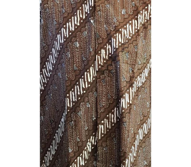 Batik overhemd korte mouw 2987