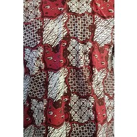 Batik overhemd korte mouw 2988