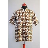 Batik overhemd korte mouw 2993