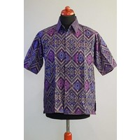 Batik overhemd korte mouw 2994