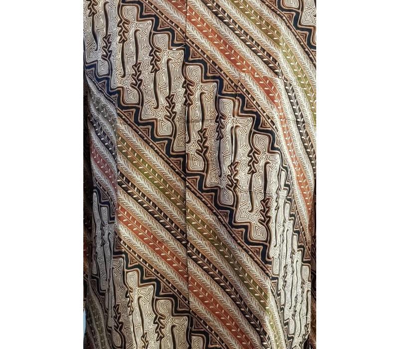 Batik overhemd lange mouw 2997