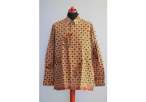 Batik overhemd lange mouw 2999