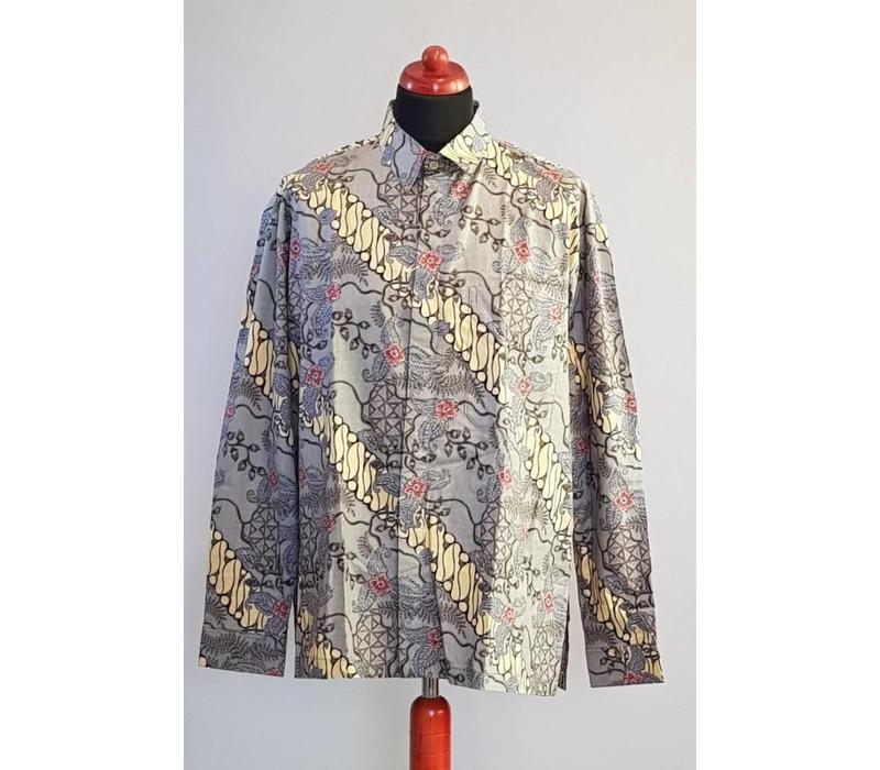 Batik overhemd lange mouw 3000