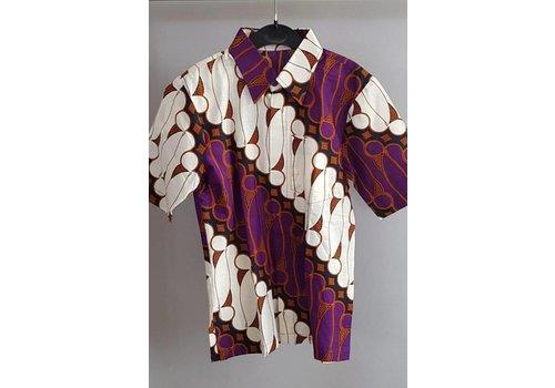 Kinder batik overhemd 0709-01