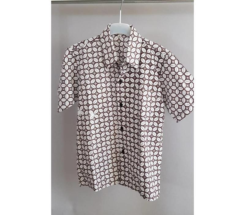 Kinder batik overhemd 0709-02